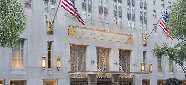Waldorf Astoria Hotel New York, NY